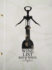 Wine list για το bar Red & White